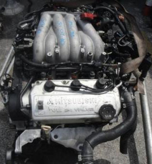 chrysler mitsubishi 3.0L V6 engine