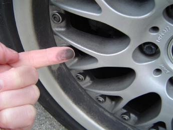 Preventing Brake Dust