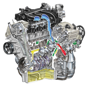 Diagnose Ford 3 0l V6 Engine